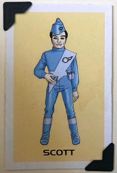 Scott Thunderbirds Greetings Card