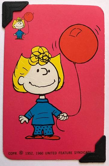 Sally Brown Peanuts Greetings Card