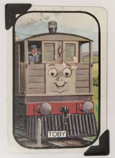 Toby Greetings Card Thomas the Tank Engine