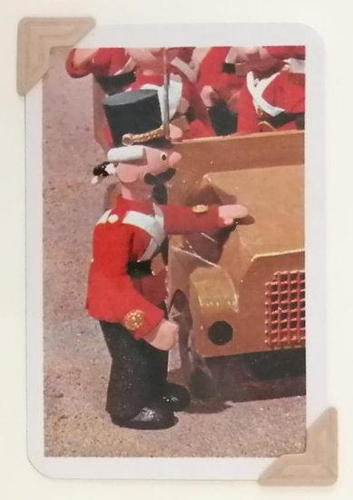 Captain Snort Greetings Card Camberwick Green