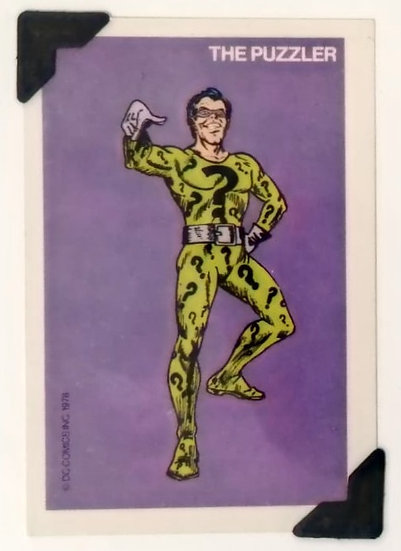 The Riddler Batman Greetings Card