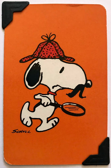 Detective Snoopy Greetings Card
