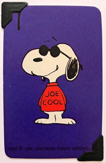 'Joe Cool' Snoopy Greetings Card