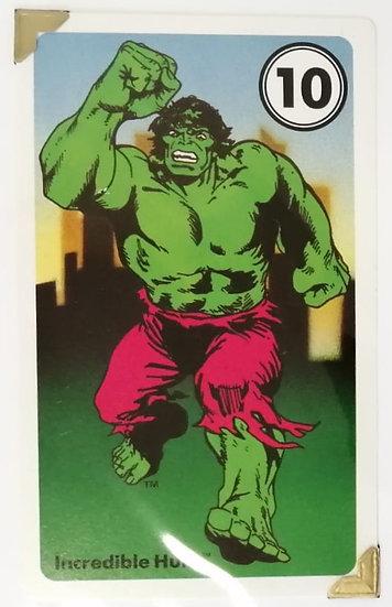 Hulk Greetings Card
