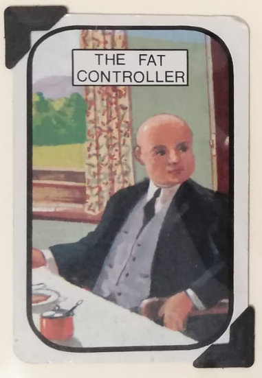 The Fat Controller Greetings Card