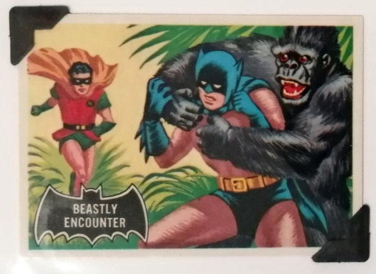 Batman and Robin Greetings Card