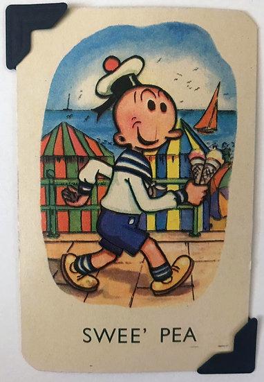 Swee' Pea Greetings Card Popeye