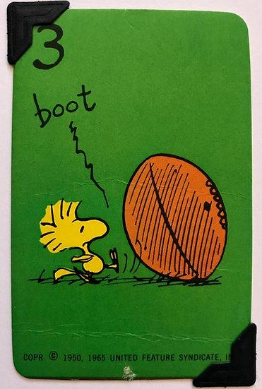 'Boot' Woodstock Peanuts Greetings Card