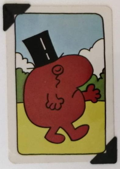 Mr. Uppity Greetings Card