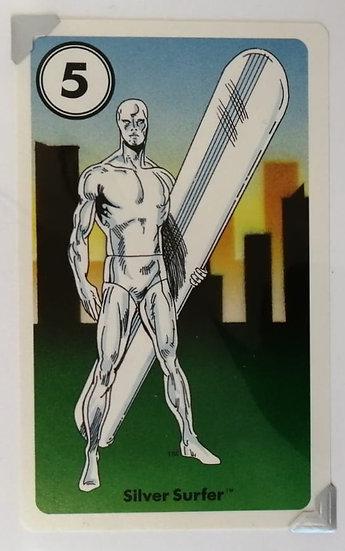 Silver Surfer Greetings Card