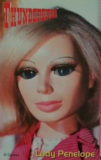 Lady Penelope Thunderbirds Greetings Card