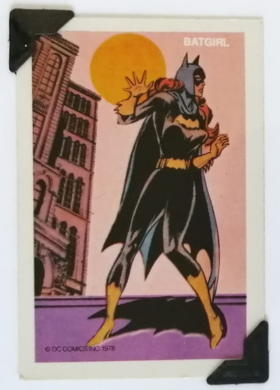 Batgirl Batman Greetings Card