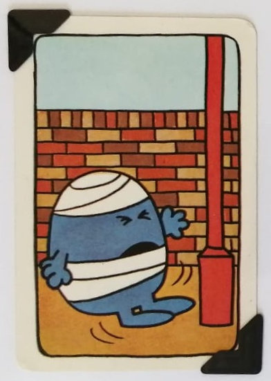 Mr. Bump Greetings Card