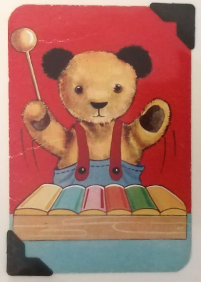 Xylophone Sooty Greetings Card