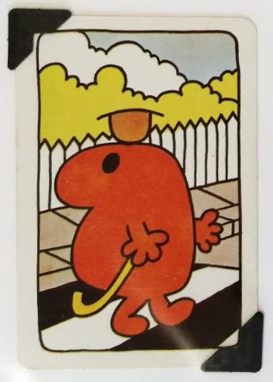 Mr. Topsy Turvy Greetings Card