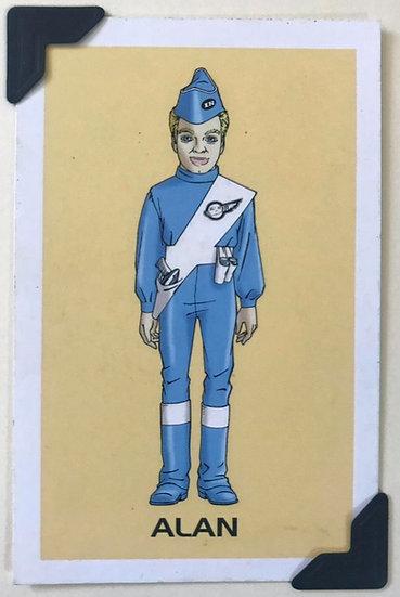 Alan Thunderbirds Greetings Card