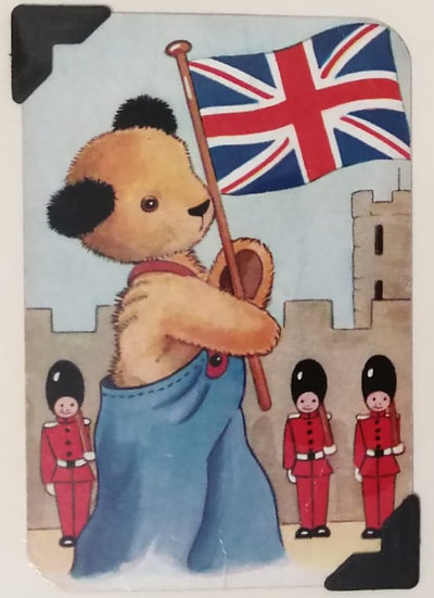 A Very British Sooty Greetings Card