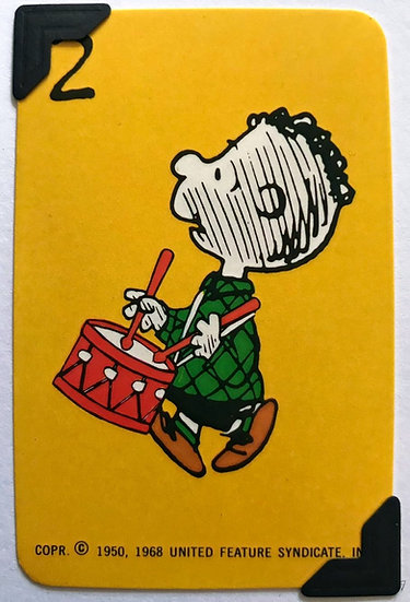 'Drummer Boy' Peanuts Greetings Card