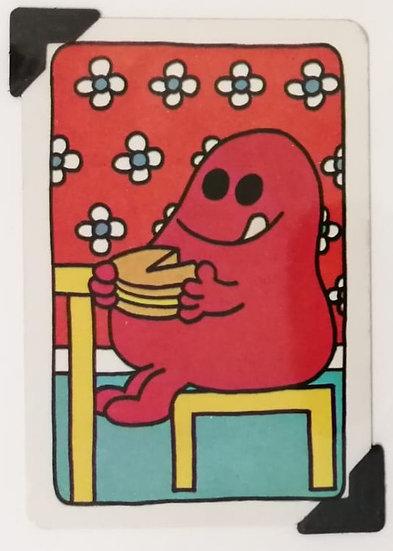 Mr. Greedy Greetings Card