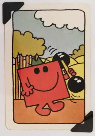 Mr. Strong Greetings Card