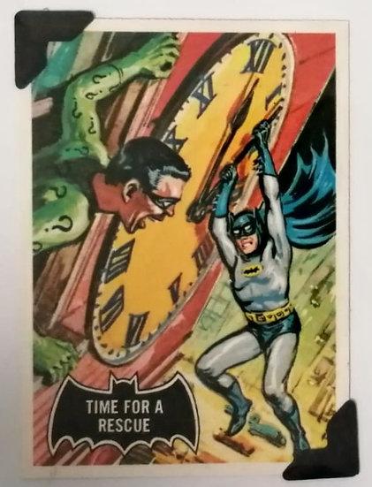 Batman and Riddler Greetings Card