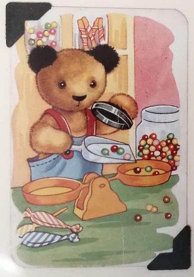 Sweetshop Sooty Greetings Card