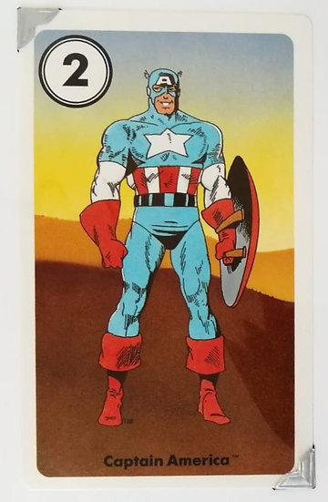 Captain America Greetings Card