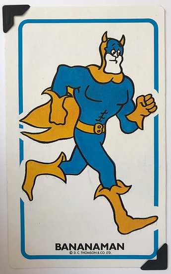 Bananaman Greetings Card