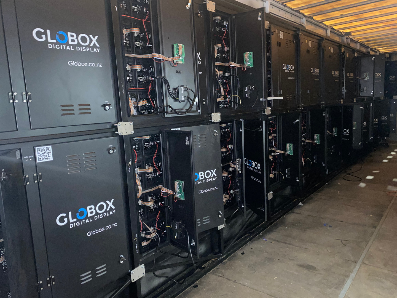 Globox Truck Interior