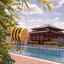 Bienen Hotel basteln im Asia Spa ©Asia Spa Leoben.jpg