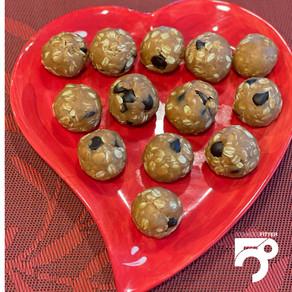 No-Bake Oatmeal/Peanut Butter Energy Balls