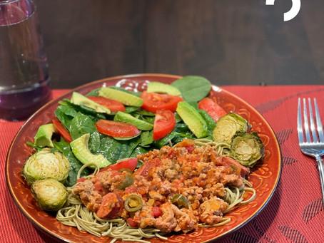 Easy Healthy Spaghetti
