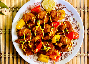 Ebi Furai (Japanese panko-coated, deep-fried shrimp)