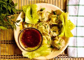 Healthy Steamed Chicken Dumplings