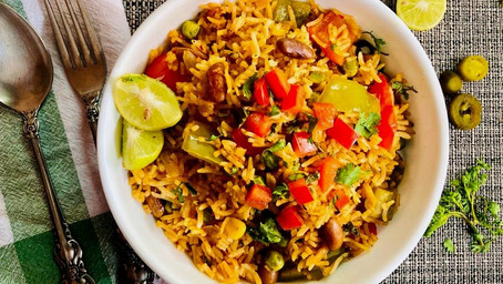 One pot Mexican rice!