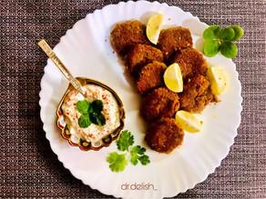 Mutton Shami Kebabs!