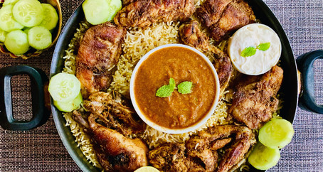 Arabian Chicken Mandi