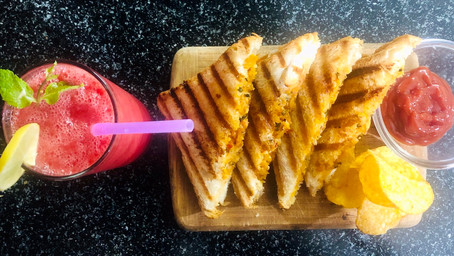 The best-ever grilled cheese sandwich~