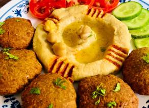 Hummus and Falafel~