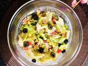 Homemade ranch salad dressing~