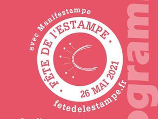 9ème fête de l'ESTAMPE- Gravure sur tétrapack