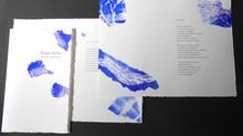 Trois Stèles - Livre d'artiste