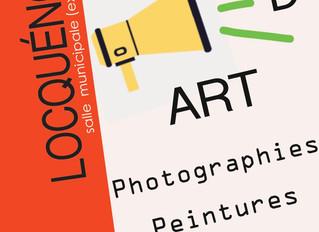 Exposition d'Art à Locquénolé