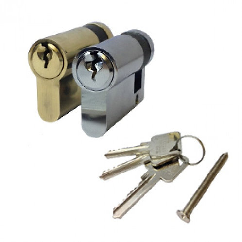 Standard 6 Pin Anti-Drill Half Euro Cylinder