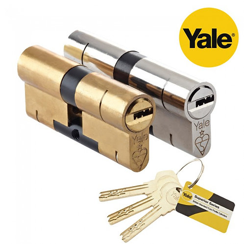 Yale Superior 1* Kitemark TS007 Approved British Standard Euro Cylinder