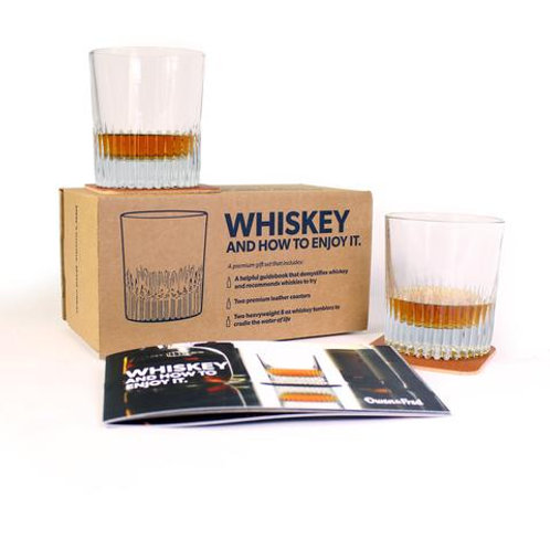 """Owen & Fred """"Whiskey And How To Enjoy It"""" Kit"""