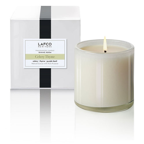 """LAFCO """"Dining Room"""" Celery Thyme Candle"""