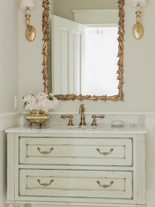 Master bathroom designed by Robin Gannon Interiors