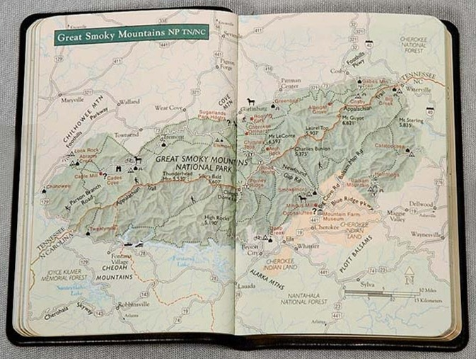 America's National Parks guidebook