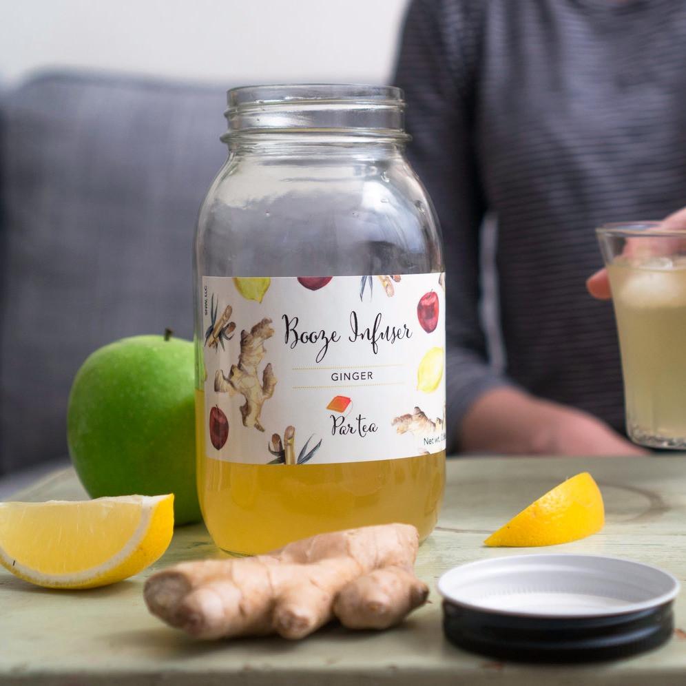 ParTea Ginger Booze Infuser